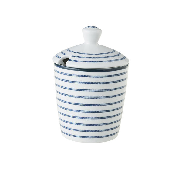 Laura Ashley Zuckerdose/Sugarpot  Candy Stripe