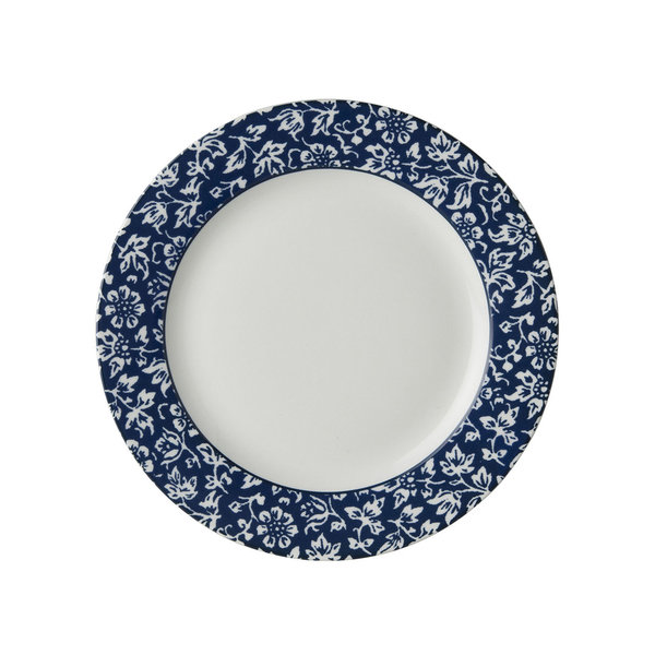 Laura Ashley Teller/Plate   D 18 Sweet Alyssum