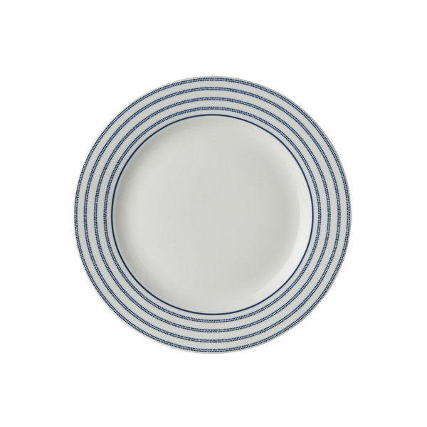 Laura Ashley Teller/Plate   D 18 Candy Stripe