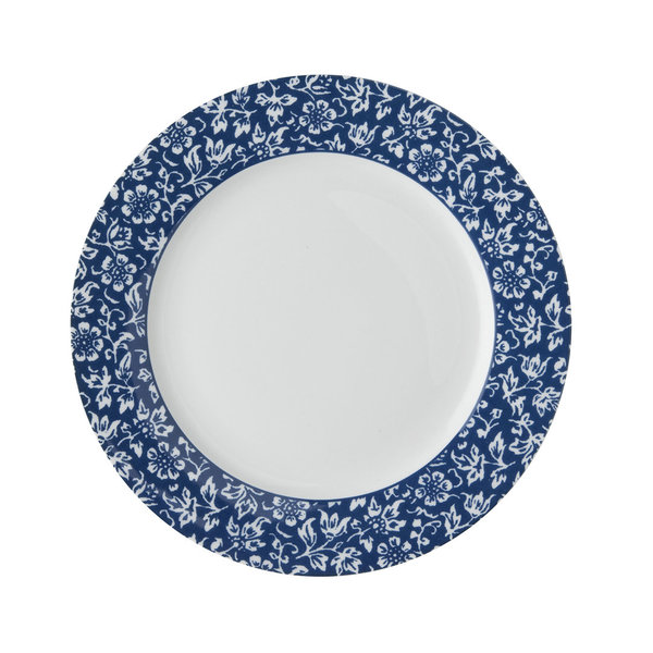 Laura Ashley Teller/Plate  D 20 Sweet Alyssum