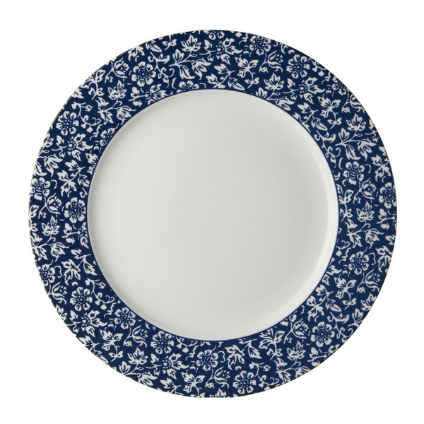 Laura Ashley Teller/Plate   D 26  Sweet Alyssum