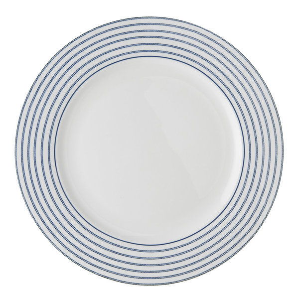 Laura Ashley Teller/Plate   D 26  Candy Stripe