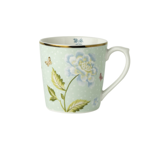 Laura Ashley Becher/Mug   0,32 l Mint Uni  H 9 cm, D 8 cm